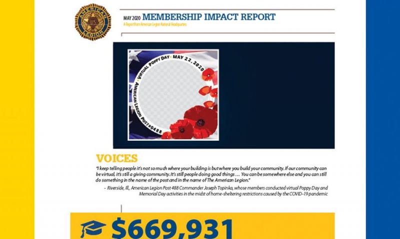 May Impact Report: Legacy Scholarships, virtual events and hot dogs