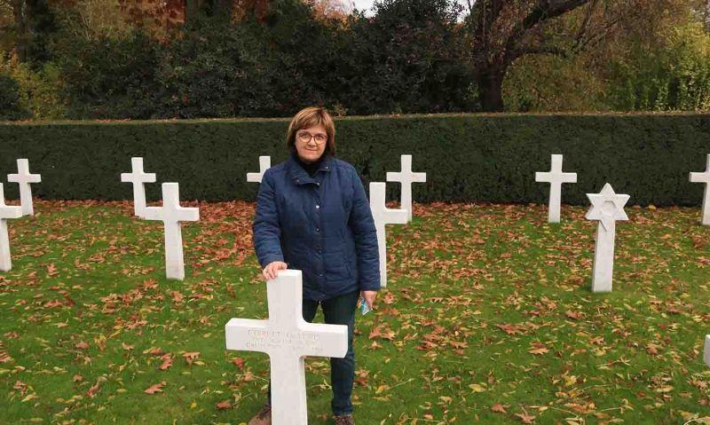 Adopting American soldiers' graves in Europe
