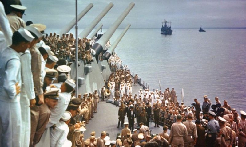 Wanted: Eyewitnesses to the Japanese surrender aboard the USS Missouri