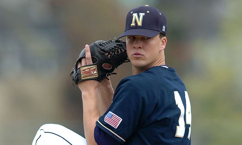 The Navy veteran who pitched in the major leagues