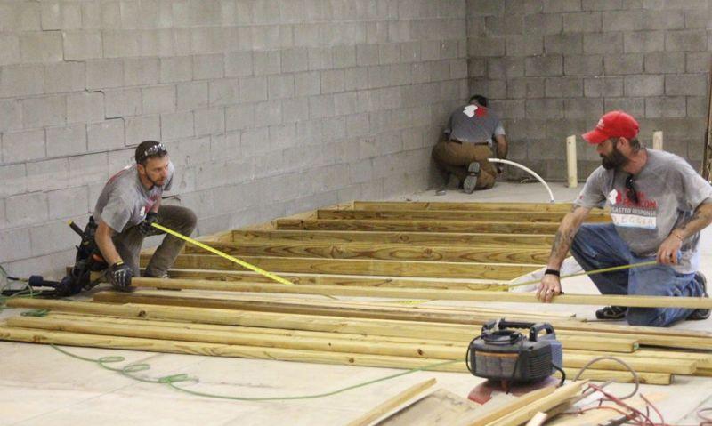 North Carolina post eyes June reopening after devastating flood