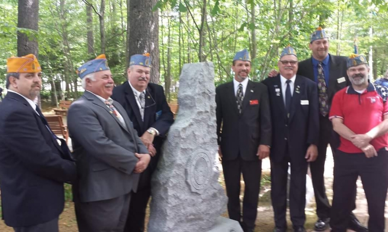 Sons marker dedicated at New Hampshire Veterans Cemetery