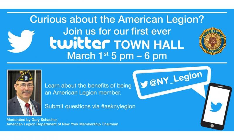 New York conducting Twitter town hall