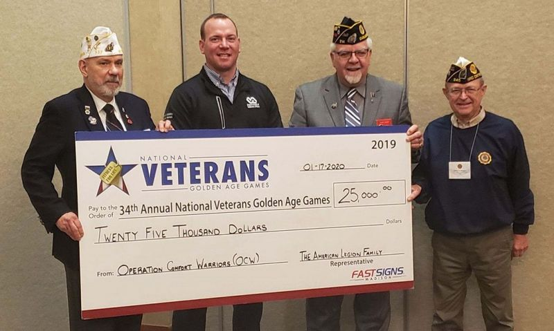 $25,000 American Legion grant supports Golden Age Games