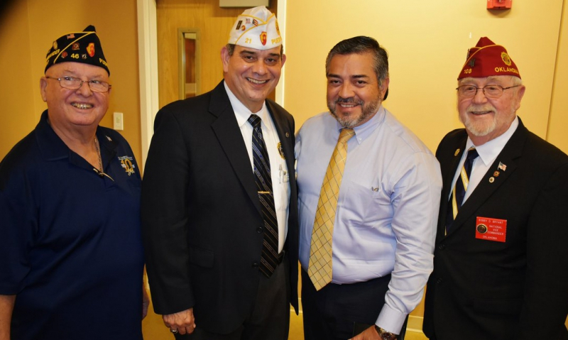 Legion leadership delivers OCW grant to Puerto Rico