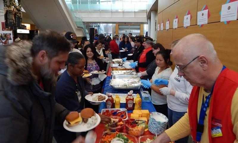 Alaska VA feeds veterans free meal with Legion support