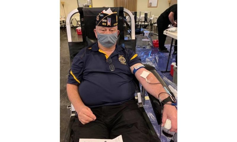 Ohio post delivers blood, food and hope to community