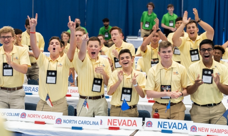 Boys Nation Day 2: The session begins
