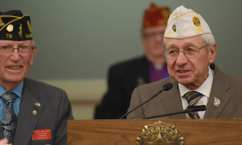 American Legion honors longtime member Kenneth Danilson