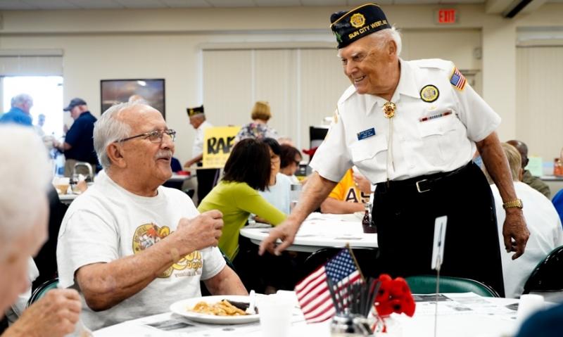 Arizona post, community honor its veterans