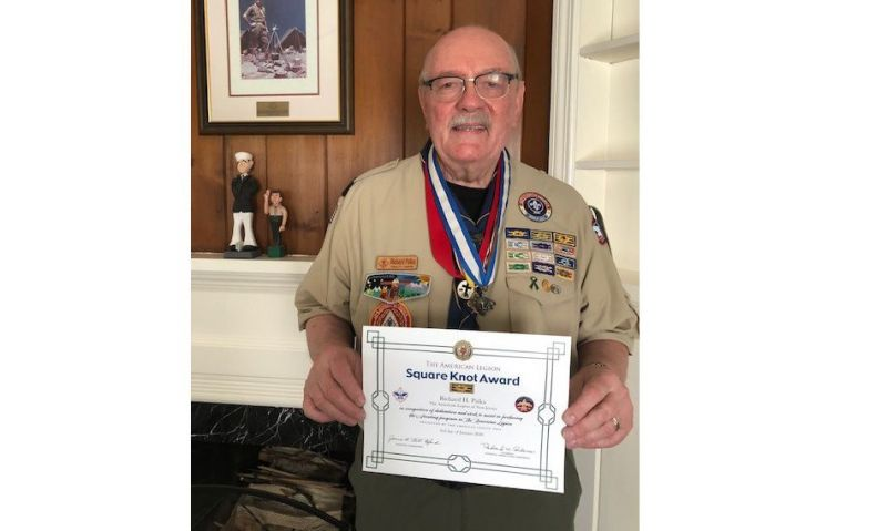 An award most coveted on Legionnaire's Scout uniform