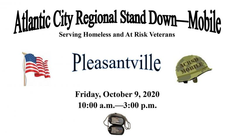 Department of New Jersey hosting mobile stand downs for homeless veterans