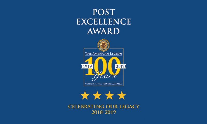 Commander Reistad recognizes post excellence