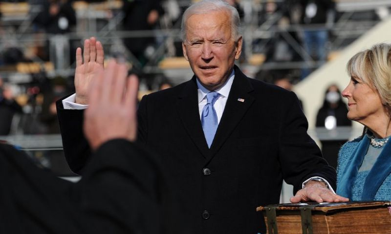 'We must end this uncivil war,' President Biden says