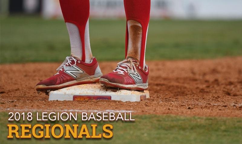 Follow American Legion Baseball regionals, Aug. 8-12