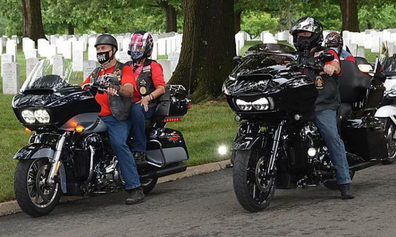 South Carolina Legion Riders travel 400-plus miles to honor their 'local national treasure'