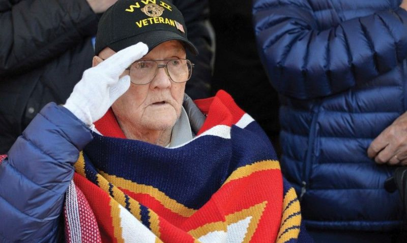 US veterans of the Battle of the Bulge honored in return to Belgium