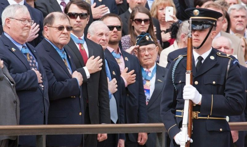 Bill introduced to build DC monument for Medal of Honor recipients