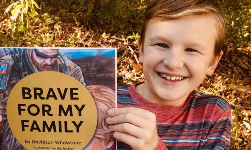 What's it like when a parent goes to war? 9-year-old boy tells all