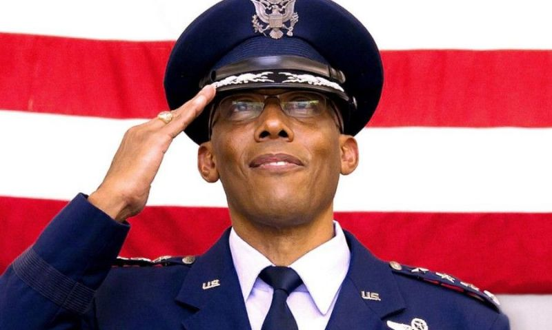 Air Force Gen. Charles Brown becomes first African American service chief