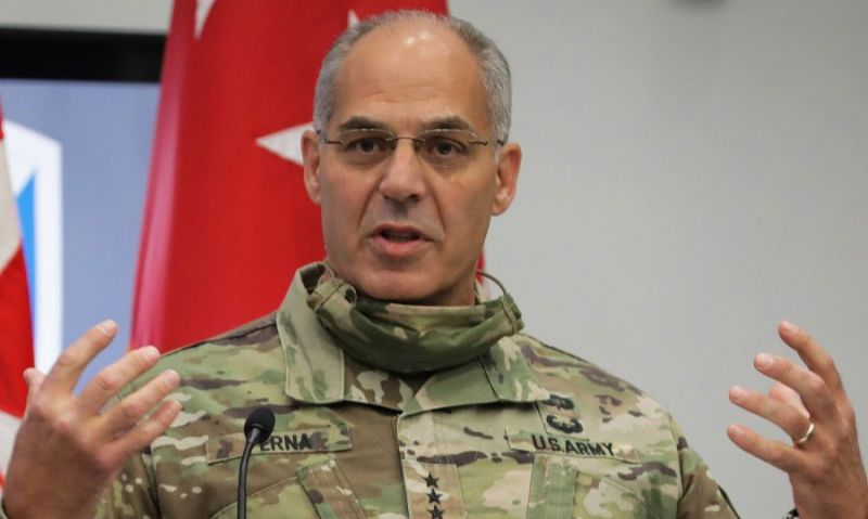 Army general: Military troops won't be on the streets distributing coronavirus vaccines when they are ready