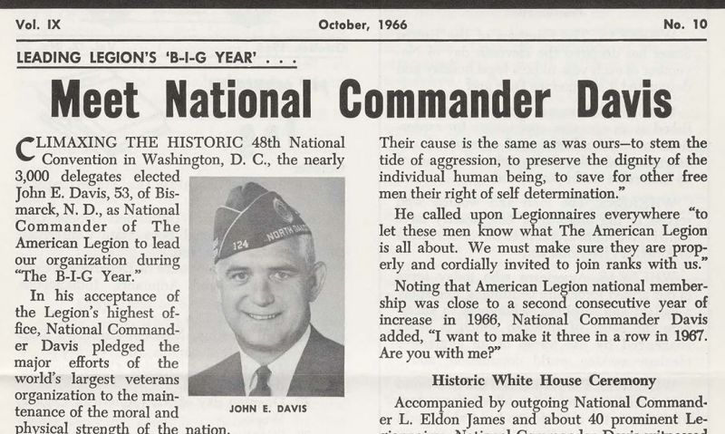 Discover Legion history with more than 50 years of digitized newsletters