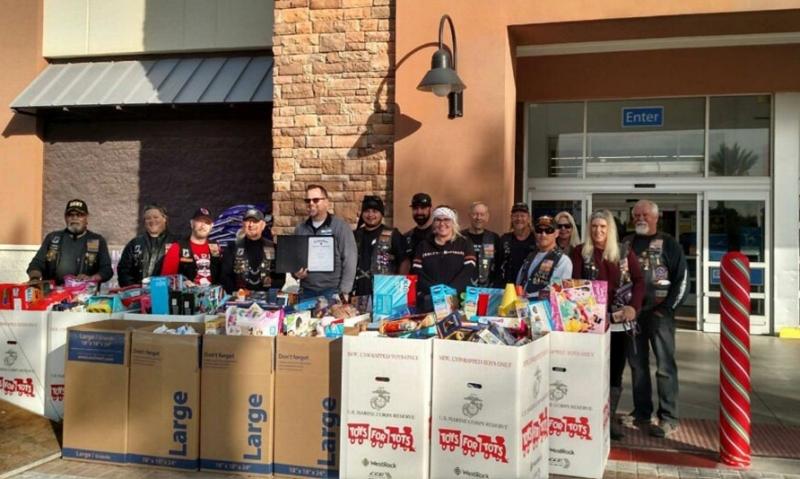 Arizona Legion Riders bringing toys to area youth