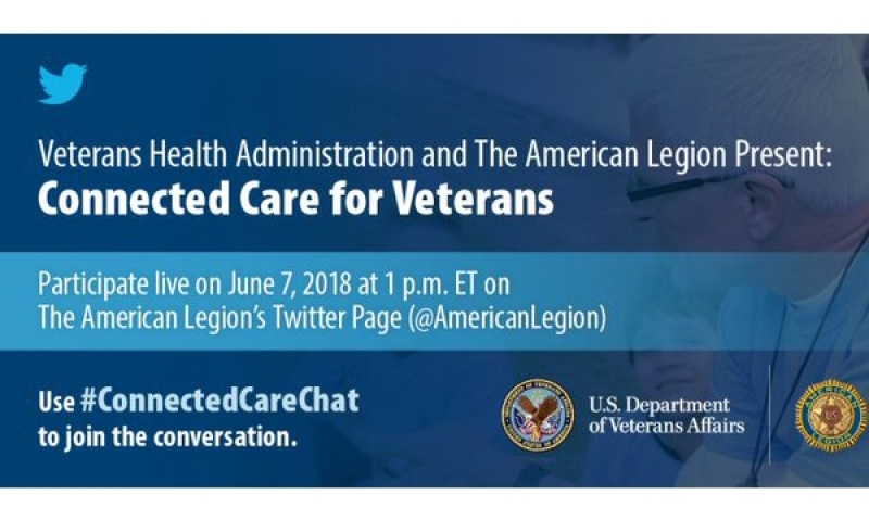 VA connected care Twitter chat set for June 7