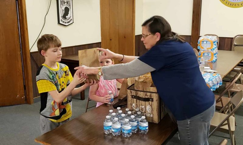 Legion Family offers meals to children affected by school closures