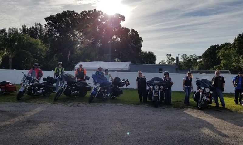 Legion Riders stay the course while staying safe