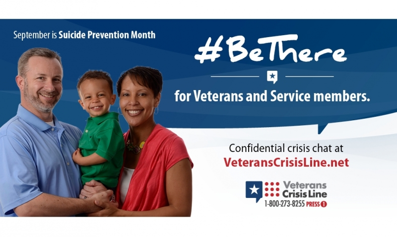 Suicide prevention resources available for veterans, servicemembers
