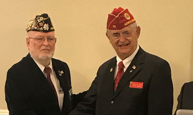 North Carolina Legionnaire named VAVS Worker of the Year