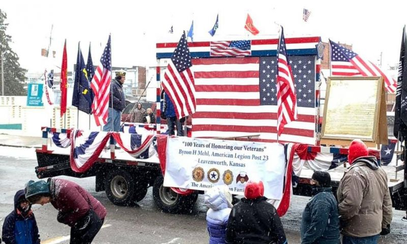 Cold temps don't stand in way of Veterans Day events