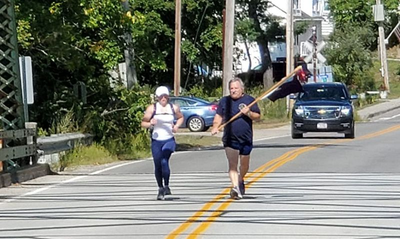 Legionnaire's virtual marathon unites Legion Family