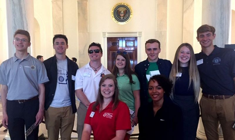 White House visit ends an 'amazing opportunity' for Legion scholars
