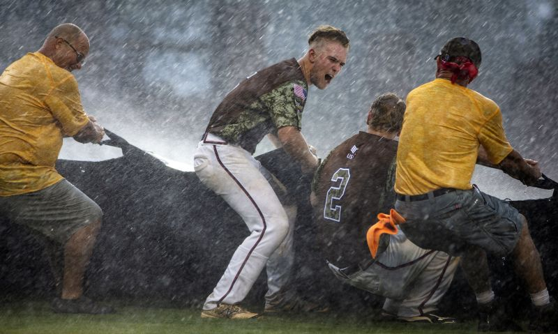 Weather suspends play at American Legion World Series Sunday