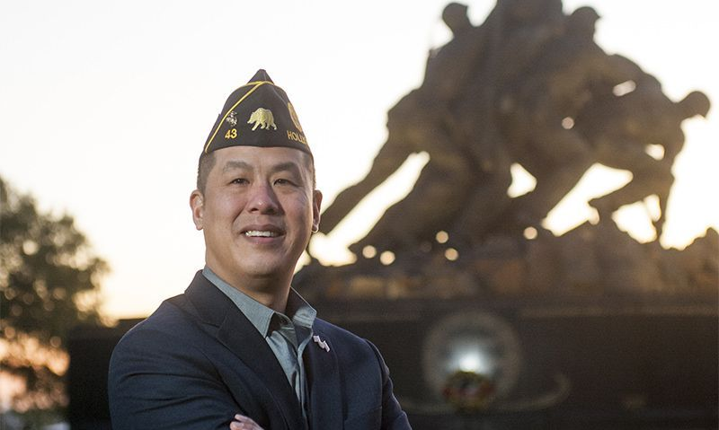 Nuntavong named executive director of Government and Veteran Affairs in Legion's DC office