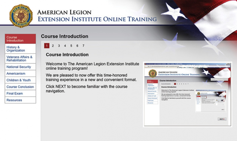 Legion Extension Institute available online