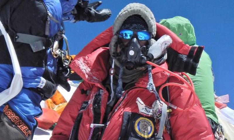 Ohio Legionnaire reaches summit of Mt. Everest
