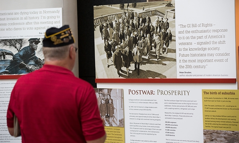 American Legion GI Bill exhibit headed back to Texas