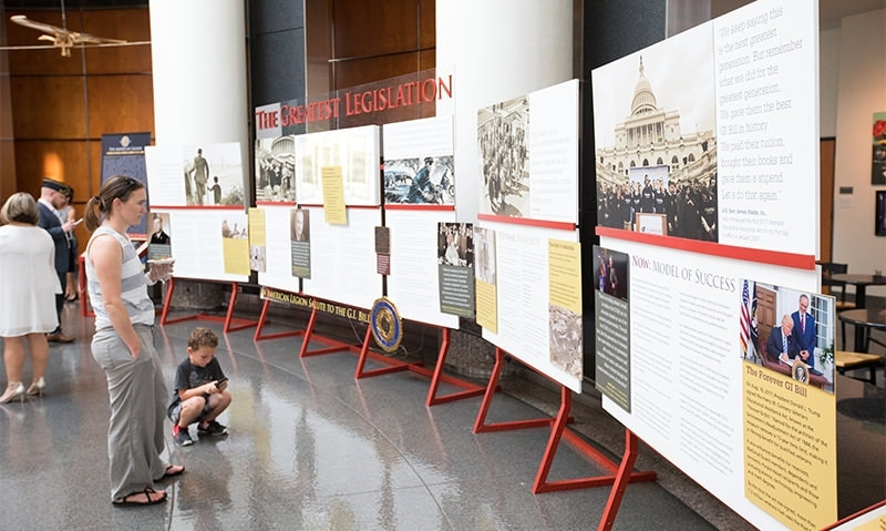 Opportunities of the GI Bill celebrated at Bush Library & Museum