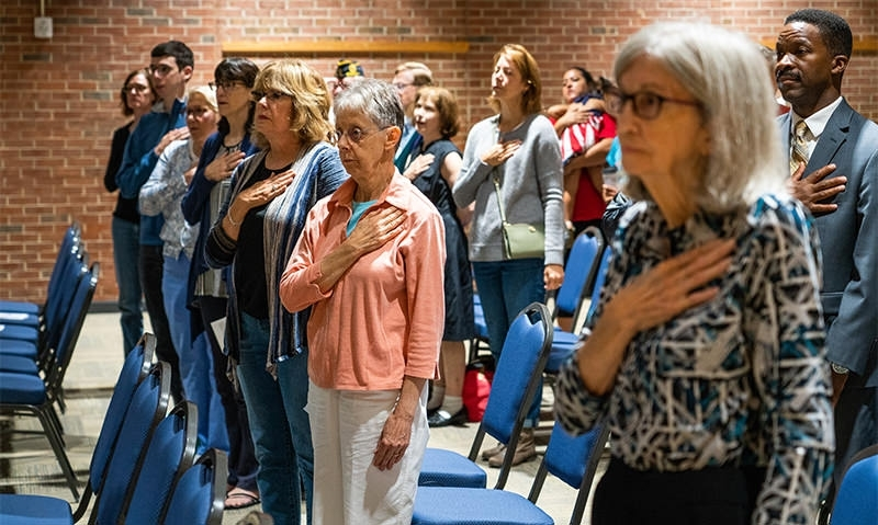 Virginia post, community epitomize promise to 'never forget' 9/11