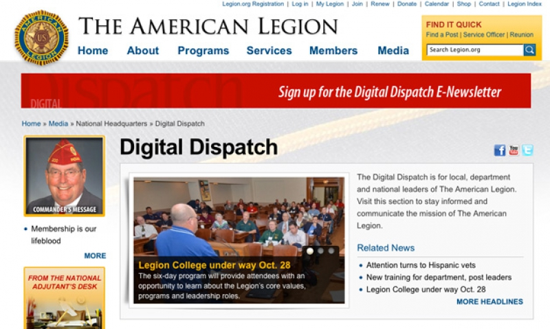 Digital Dispatch now available | The American Legion