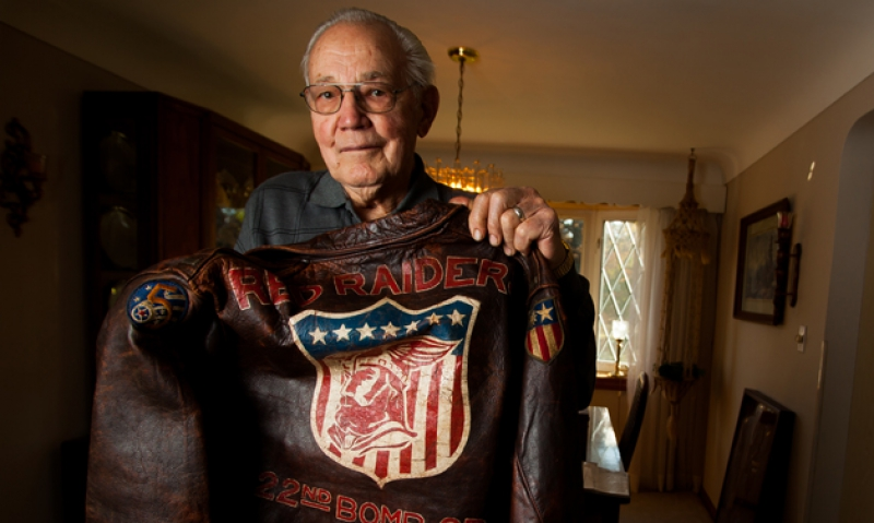 Pilot Bomber Jacket Reunited After 60 Years The
