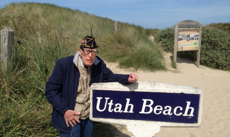 Contact information for D-Day anniversary