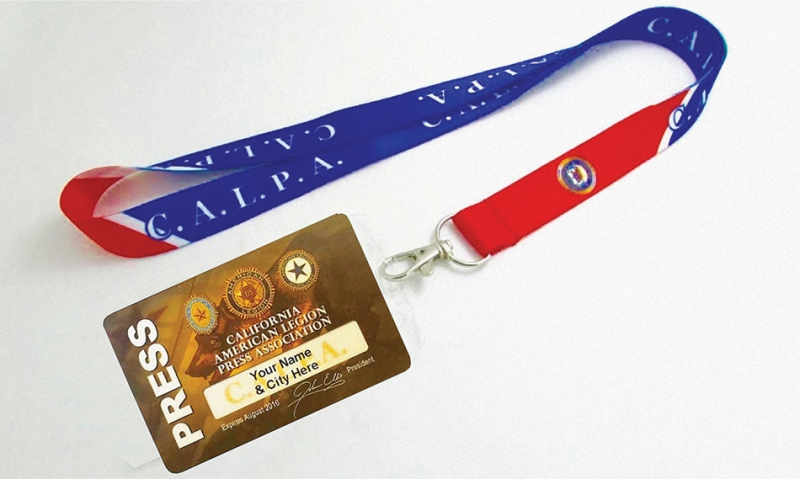How to use your NALPA press card