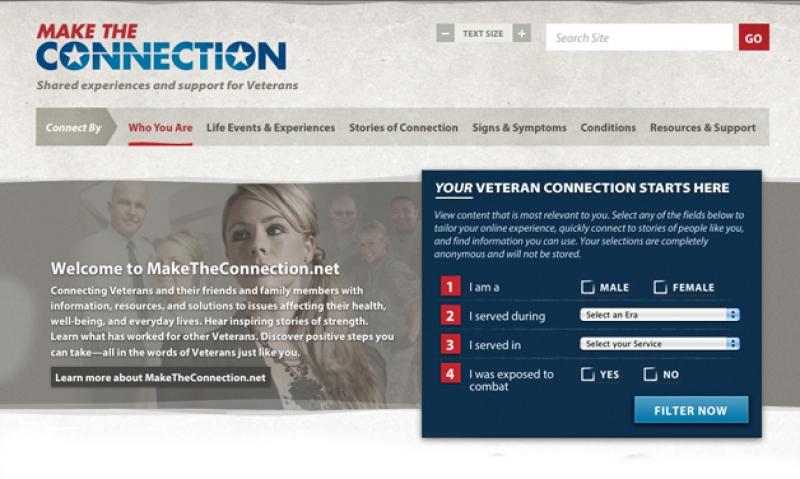 VA launches Make the Connection