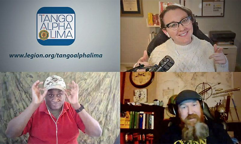 How to listen to The American Legion's Tango Alpha Lima podcast
