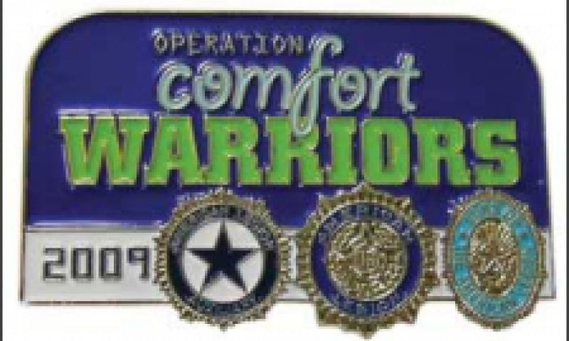 Pin created for Comfort Warriors donors