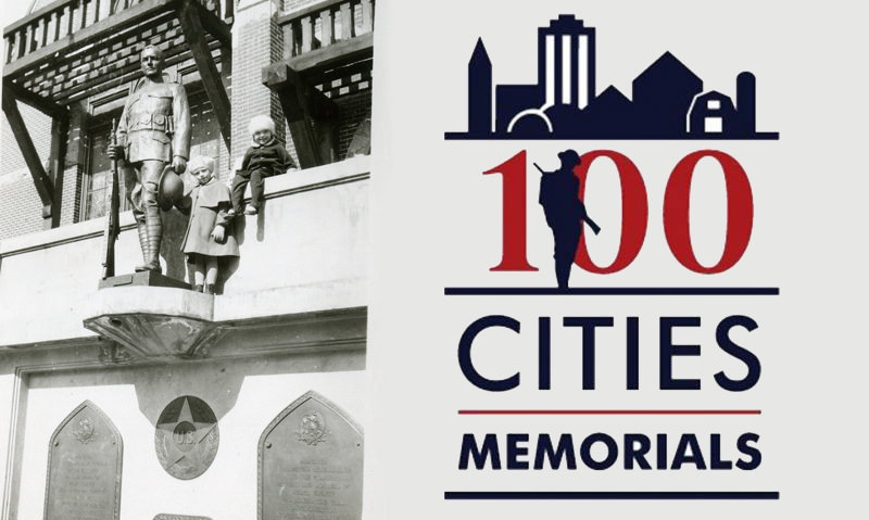 Fifty World War I memorials designated 'centennial memorials,' receive grants